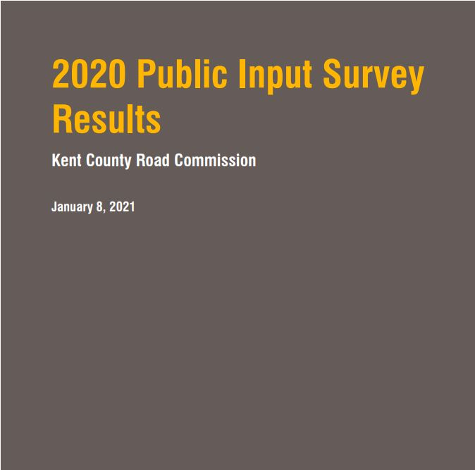 KCRC Releases Results of 2020 Public Input Survey