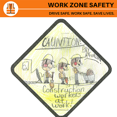 Work Zone Safety Poster Contest Again Invites Third Graders to Promote Safe Driving Habits